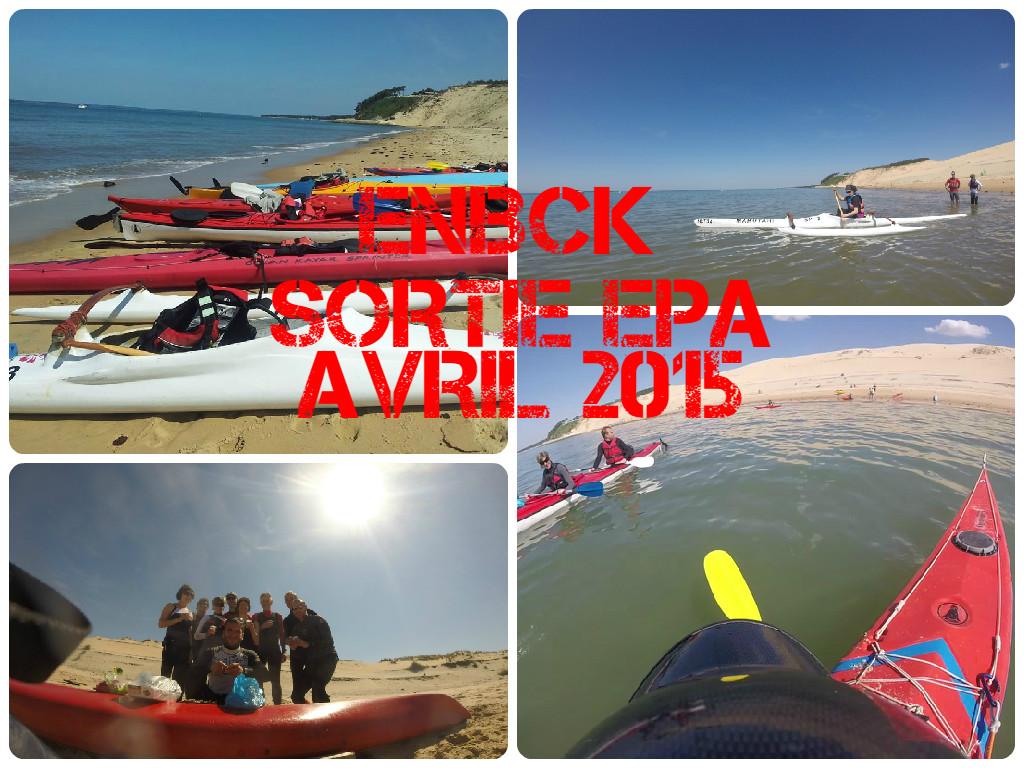 Une sortie kayak de mer au Pyla
